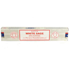 WHITE SAGE - SATYA INCENSE STICKS PACK OF 1 (EACH PACK CONTAINS 15 G)