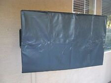 "Black LCD Flat Panel 39-40"" Indoor Outdoor TV Cover MOSSCOVERS"