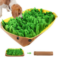 Pet Snuffle Mat for Dogs Cat Boredom Interactive Feed Game Encourages Bowl Skill