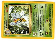 POKEMON ESPAGNOL BASE SPANISH RARE CARD N°  17/102 BEEDRILL