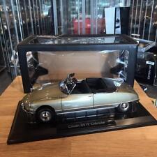 Norev 1/18 1961 Citroen DS19 Cabriolet Gold 181563