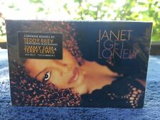JANET JACKSON I GET LONELY REMIXES  FACTORY SEALED CASSETTE SINGLE C66
