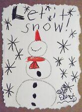 """Original drawing- """"Let it snow,Let it snow!"""""""