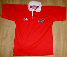 MUNSTER RUGBY Players SHIRT-Number 15-Classic-Unworn-NEW-Size LARGE-Superb