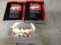 2002 Toyota TACOMA TRUCK Service Shop Repair Workshop Manual Set W EWD OEM