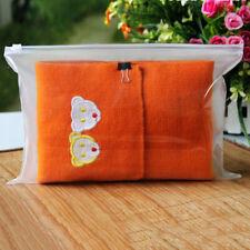 Clear Transparent Plastic PVC Travel Cosmetic Make Up Toiletry Zipper Bag UK