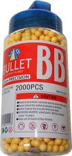 1 Pot de 2000 Jaune 0.15g Plastique 6mm BB Pistolet Pellets