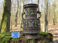 Antike Chinesische Bronze Vase mit Cloisonné Einlagen
