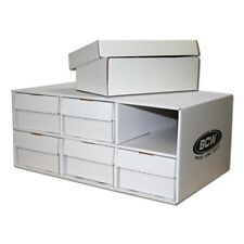 One BCW Shoe House with Six Shoe Storage Boxes - Holds up to 2100 Toploaders