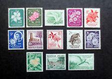 NORFOLK ISLAND 1960-62 COMPLETE DEFINITIVES VERY FINE MNH