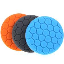 3Pcs 3 Inch Buffing Sponge Polishing Pad Kit Set For Car Polisher Buffer PM