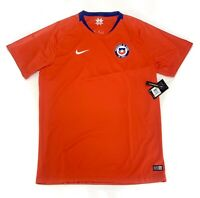 Men's Nike Chile Home WORLD CUP 2018/19 Soccer Jersey 893860-673 Sz XL, XXL