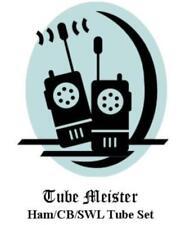 TRAM Titan II 2 Complete Primo Tube Set 6GK6 - All Receiver + Transmitter Tubes