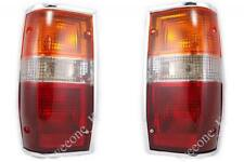 1 PAIR CHROME REAR TAIL LIGHT FOR MITSUBISHI L200 Cyclone Mighty Max 1986 - 1994