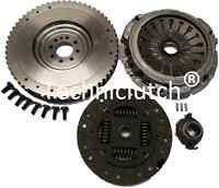 DUAL TO SINGLE MASS FLYWHEEL AND CLUTCH KIT PACKAGE FOR PEUGEOT 607 2.2 HDI