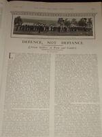 1903' Articolo Imperial Yeomanry Auto Help Occupazione Association Out Di Operai