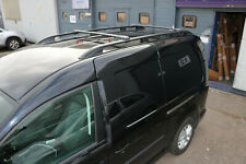 VW CADDY MAXI on 2004 ALUMINIUM ROOF RAIL BARS RACKS BLACK COLOUR *NEW*