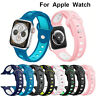 38mm 44mm Silicone Sport Apple Watch Band Strap For Iwatch Series 4/3/2/1