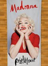 Madonna BEACH TOWEL NEW Summer 2016 MDNA Rebel Heart Bitch Living For Love Vogue