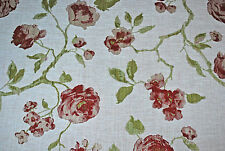 """Linen Rose"" furnishing fabric by John Lewis, Raspberry, by the metre"