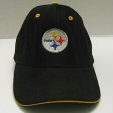 Mens PITTSBURGH STEELERS cap baseball hat adjustable strap