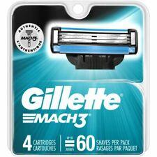 Gillette Mach3 Razor Blade Refills - 4 Cartridges