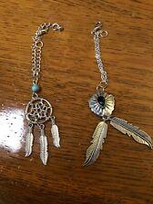Evangeline Ghastly,Bjd, 2 For1 Sale On Southwestern Style Silver Ooak Necklaces