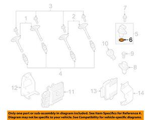 NISSAN OEM Ignition-Camshaft Sensor O-ring 22131EN205