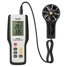 Digital Anemometer Handheld Wind Speed Meter Measures LCD Display Air Velocity