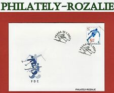 Czech Republic 2002 FDC First Day Cover (Winter Paralympic Games ) 315