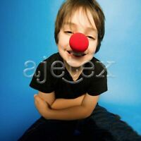 25pcs Fun Red Sponge Clown Noses Circus Halloween Carnival Party Fancy Costume