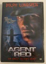 Agent Red (DVD, 2004) Brand New Sealed Dolph Lundgren, SCOTT Schwartz