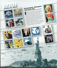 USA 1999 MNH, FULL SHEET CELEBRATE THE CENTURY 1970'S