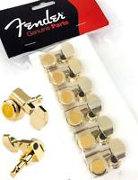 NEW Mécaniques gold FENDER USA 6 en ligne 0990818200 pour guitare strat, tele...