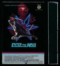 MGM Betamax NOT VHS Enter the Ninja 1981 FRANCO NERO Susan George Martial Arts