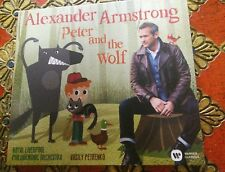 Alexander Armstrong Peter And The Wolf Cd Fab Xmas stocking present