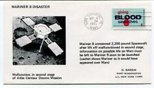1971 Mariner 8 Disaster Malfunction Second Stage Atlas Centaur Domms Mission SAT