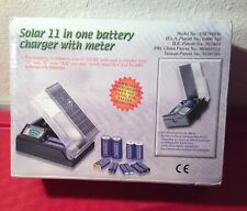 SOLAR 11 IN ONE BATTERY CHARGER WITH METER MODEL ES879 BRAND NEW!!