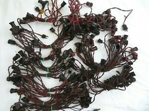 Vintage C9 Christmas Light Strings 14 Strings Assorted Untested