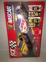 SCX NASCAR Superspeedway Compact 1:43 Slot Car Racing - Power Terminal Not Incl