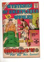 Mysteries of Unexplored Worlds #24 Fn 6.0 1961 DITKO ART Pre Amazing Fantasy 15