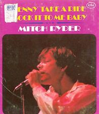 MITCH RYDER - JENNY TAKE A RIDE b/w SOCK IT ..- HIP POCKET RECORD - STILL SEALED