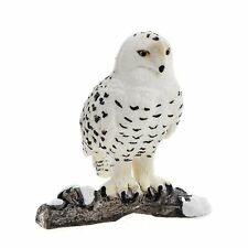 SNOWY OWL by Schleich; toy/replica/bird/owls