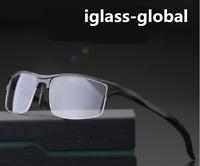 Aluminum magnesium Glasses Frames Women Men Eyeglasses RX Sports Sunglasses