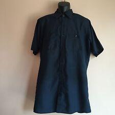 Uniform shirt Red Kap touchTex Short sleeve mens L-SSL Navy Blue