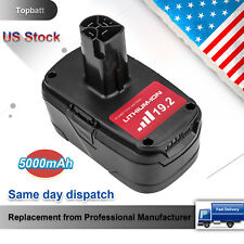 5.0Ah for Craftsman 19.2V Lithium Battery Replacement C3 Battery XCP 315.115410