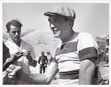 JOHN HUSTON Original CANDID Vintage 1950 THE RED BADGE OF COURAGE MGM DBW Photo