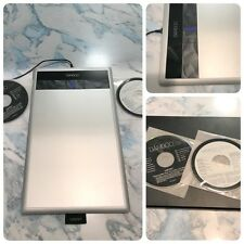 WACOM Bamboo Create Touch Tablet Model CTH-670 w/ USB & Software Missing Stylus