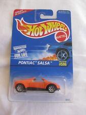 Hot Wheels 1996 Collector #596 Pontiac Salsa 7spk Wheels Mint In US Card
