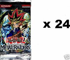 Metal Raiders *24* Guaranteed Unsearched Sealed  Booster Packs YU-GI-H!